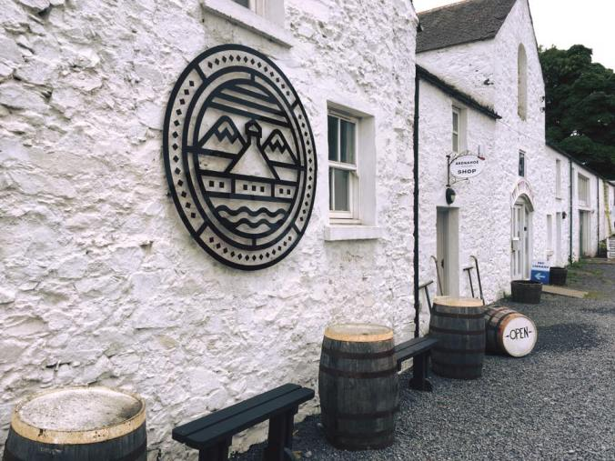 Single Malt Scotch Whisky Distillery Ardnahoe auf Islay Besucherzentrum