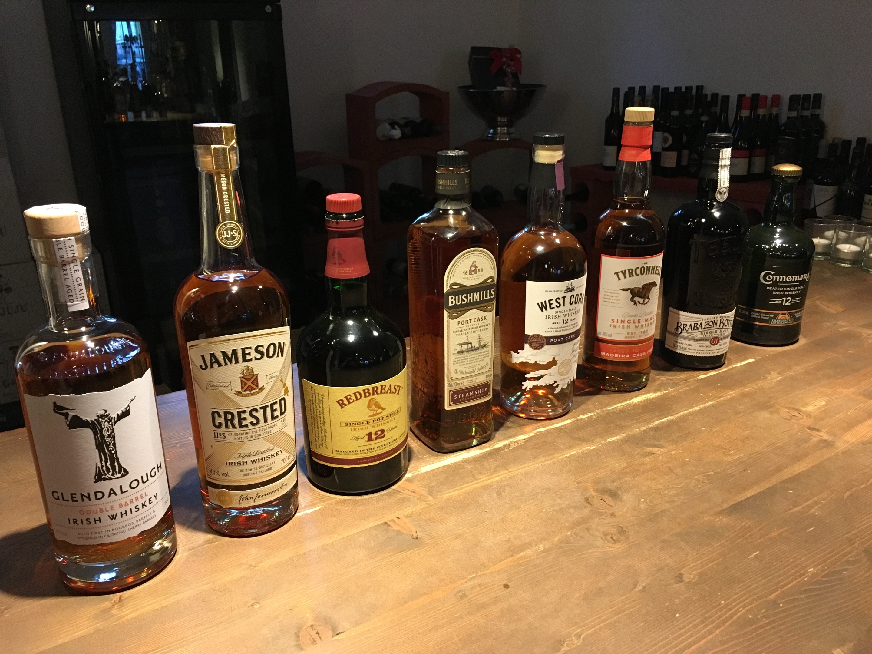 Malt Mariners Irish Single Malt Single Pot Still Whiskey Tasting Verkostung Weinland La Barrique Wedel
