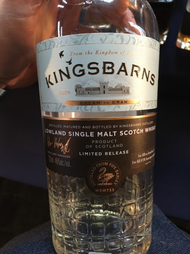 Kingsbarns Single Malt Scotch Whisky First Release