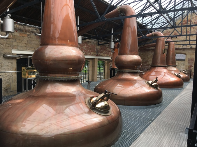 Borders Distillery Pot Stills Single Malt Whisky Lowland Schottland Malt Mariners Whisky Tasting