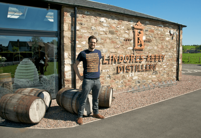 Lindores Abbey Single Malt Scotch Whisky Distillery Brennerei Malt Mariners