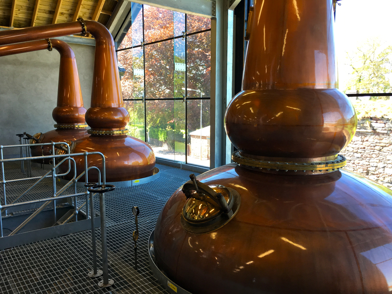 Lindores Abbey Single Malt Scotch Whisky Distillery Brennerei Malt Mariners Pot Stills Brennblasen Destillation