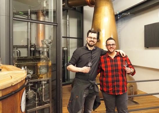 Leon Schuster Patrick Ahluwalia Malt Mariners Whisky Tastings